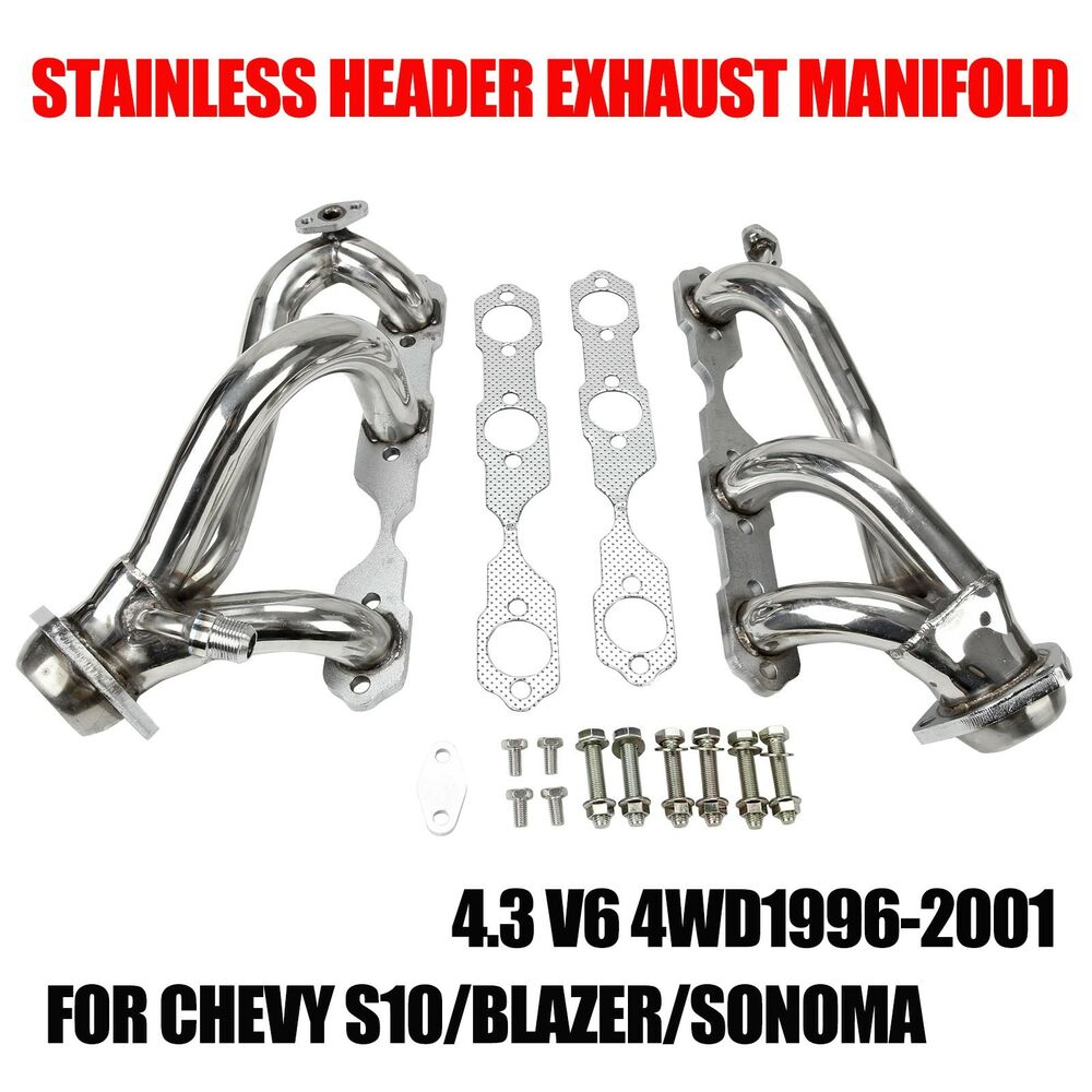 stainless header exhaust manifold for 96