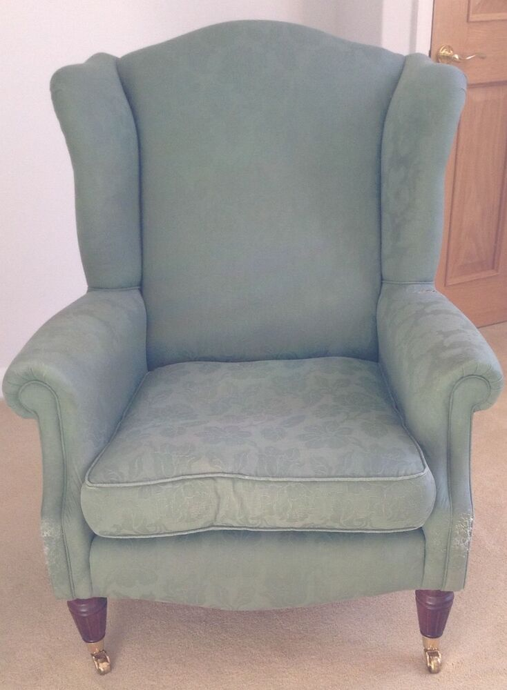 Laura Ashley Southwold Wing Winged Back Chair Ebay
