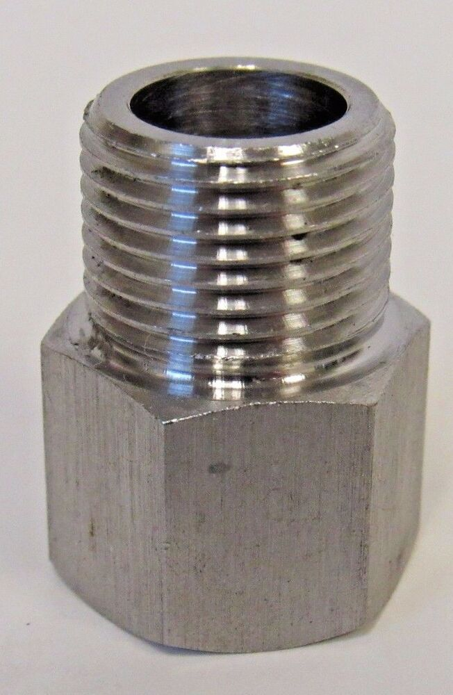 New stainless steel adapter quot npt female