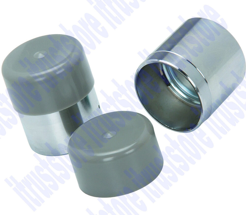 Boat Trailer Grease Cap : Pair in utility boat trailer wheel axle bearing