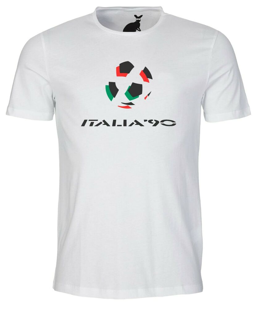 Details about ITALIA 1990 WORLD CUP LOGO RETRO MENS T SHIRT FOOTBALL SOCCER  SPORT 90 ITALY 3c0eac56c