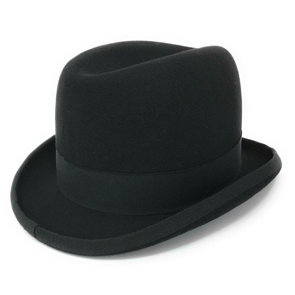 homburg mens hat wool felt lined winston churchill classic. Black Bedroom Furniture Sets. Home Design Ideas