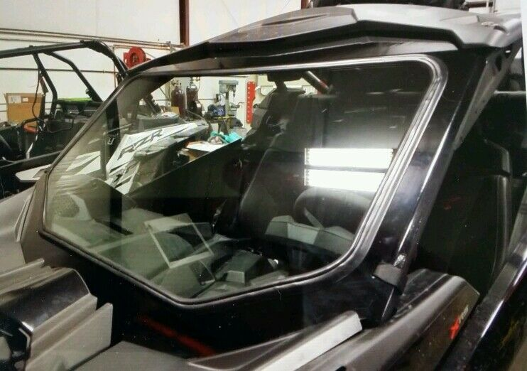 Can Am Parts >> Can am x3 brp FULL glass windshield can-am x 3 laminated auto safety   eBay
