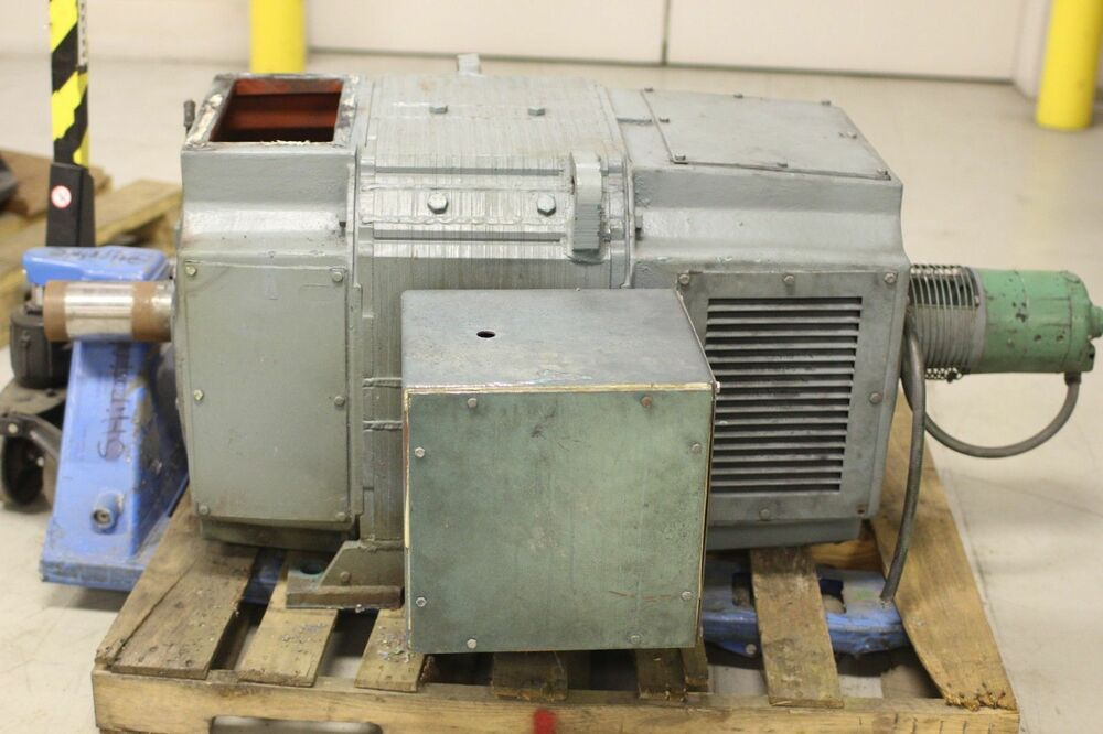 Used reliance electric super rpm dc motor 200 hp 1150 2000 for 500 rpm electric motor