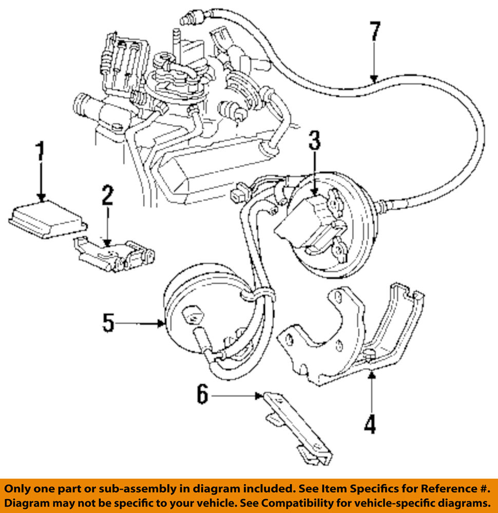 Gm Oem Cruise Control Module 25111880 Ebay General Diagram