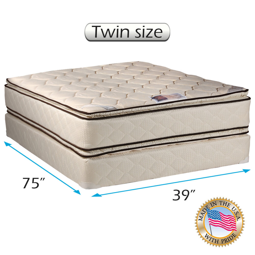 Dream Solutions Usa Coil Comfort Pillow Top Mattress And