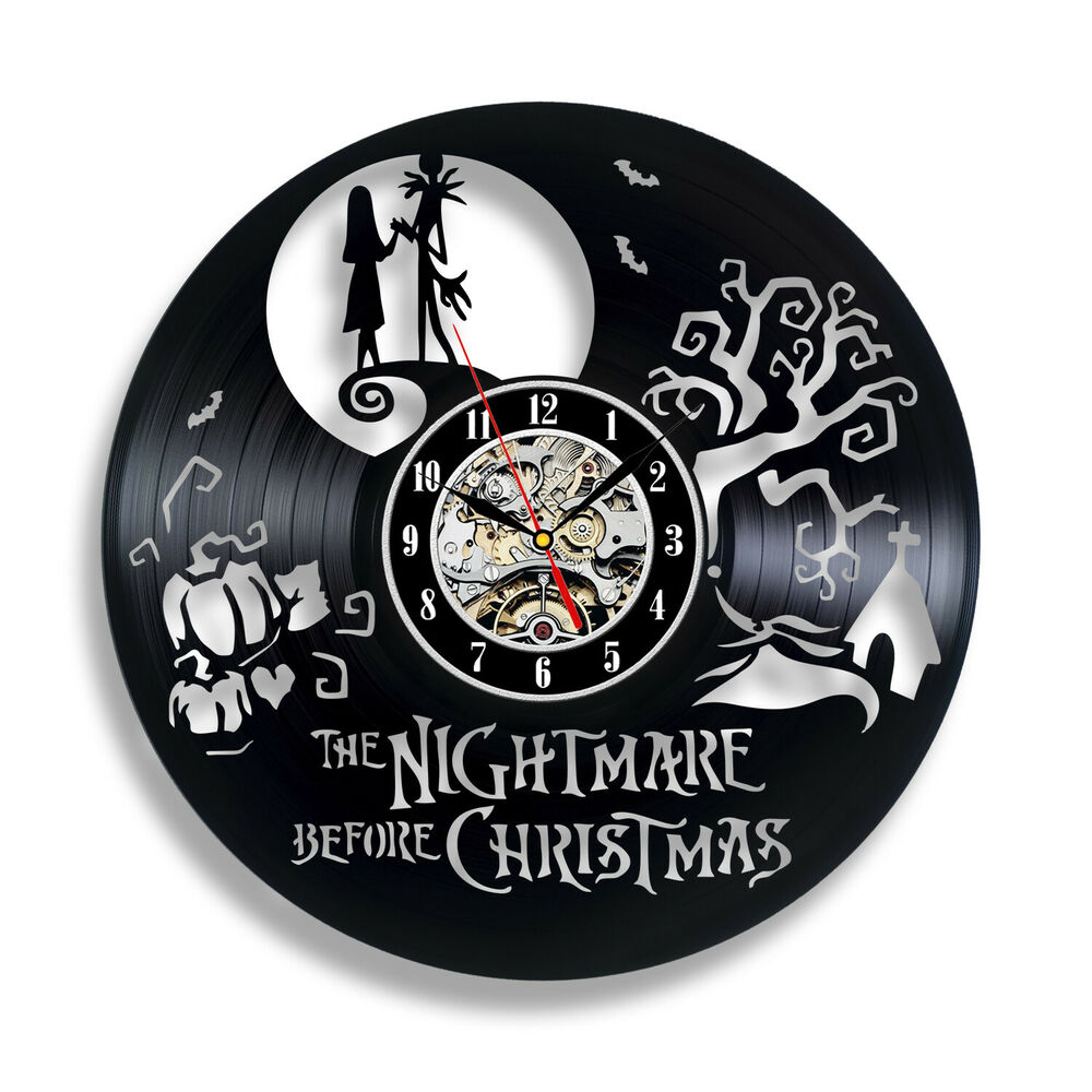 The Nightmare Before Christmas Gift Vinyl Record Wall