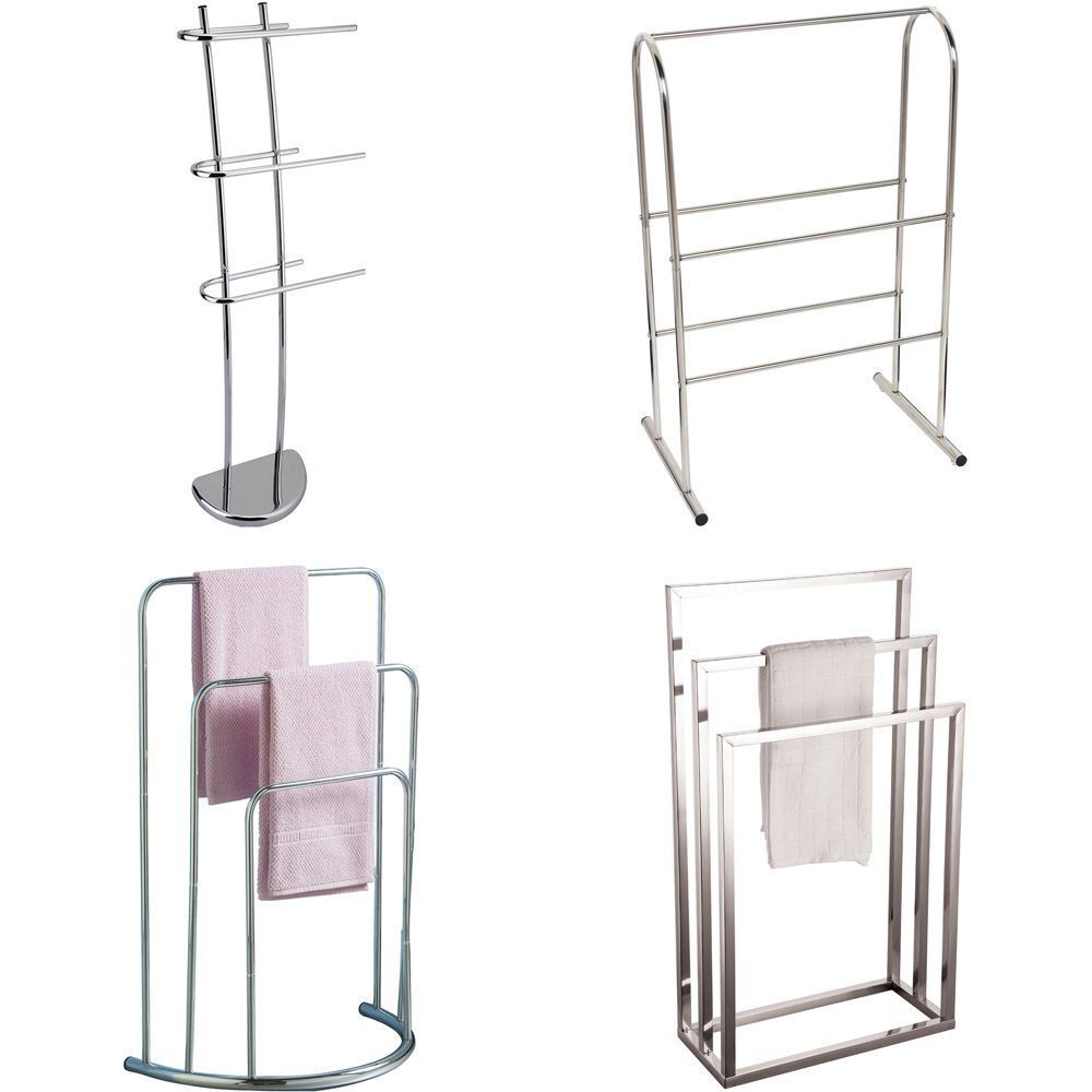bathroom cabinet with towel rail towel holder 3 5 tier bar freestanding bathroom drying 21988
