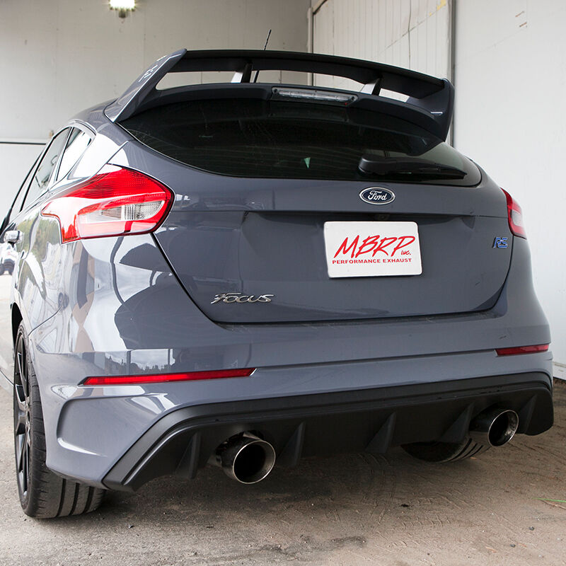 Details About Mbrp 2016 2018 Ford Focus Rs 2 3l Turbo 3t 3 Street Catback Exhaust System Al