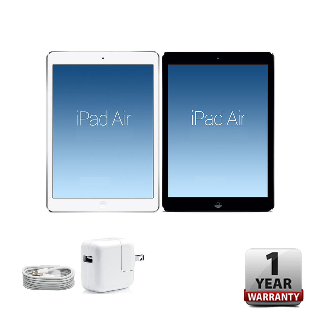 apple ipad air 16gb 32gb 64gb 128gb silver space gray wi. Black Bedroom Furniture Sets. Home Design Ideas