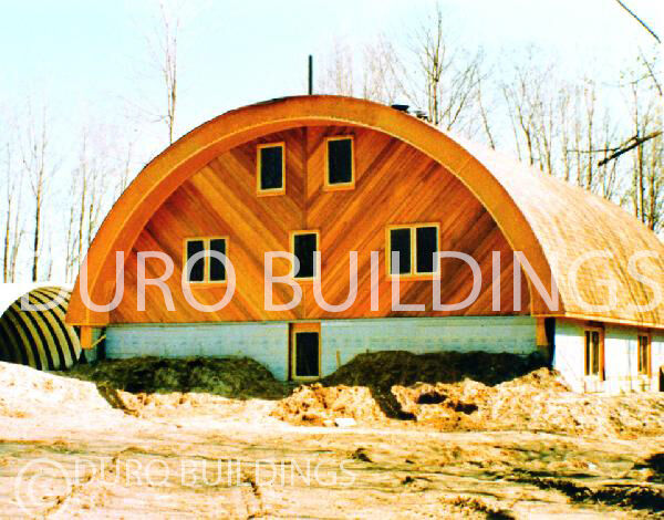 Durospan Steel 30x32x14 Metal Quonset Barn Arched Building