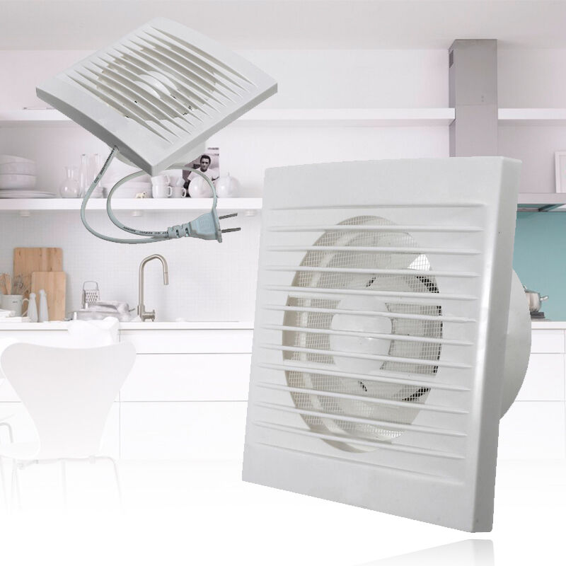 Bathroom Extractor Window Fan : Ventilation extractor exhaust fan blower window wall