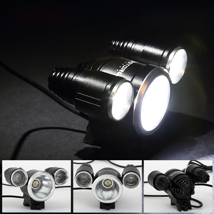 1400lm 2 cree q5 led fahrradbeleuchtung fahrradlicht beleuchtung fahrradlampe ebay. Black Bedroom Furniture Sets. Home Design Ideas