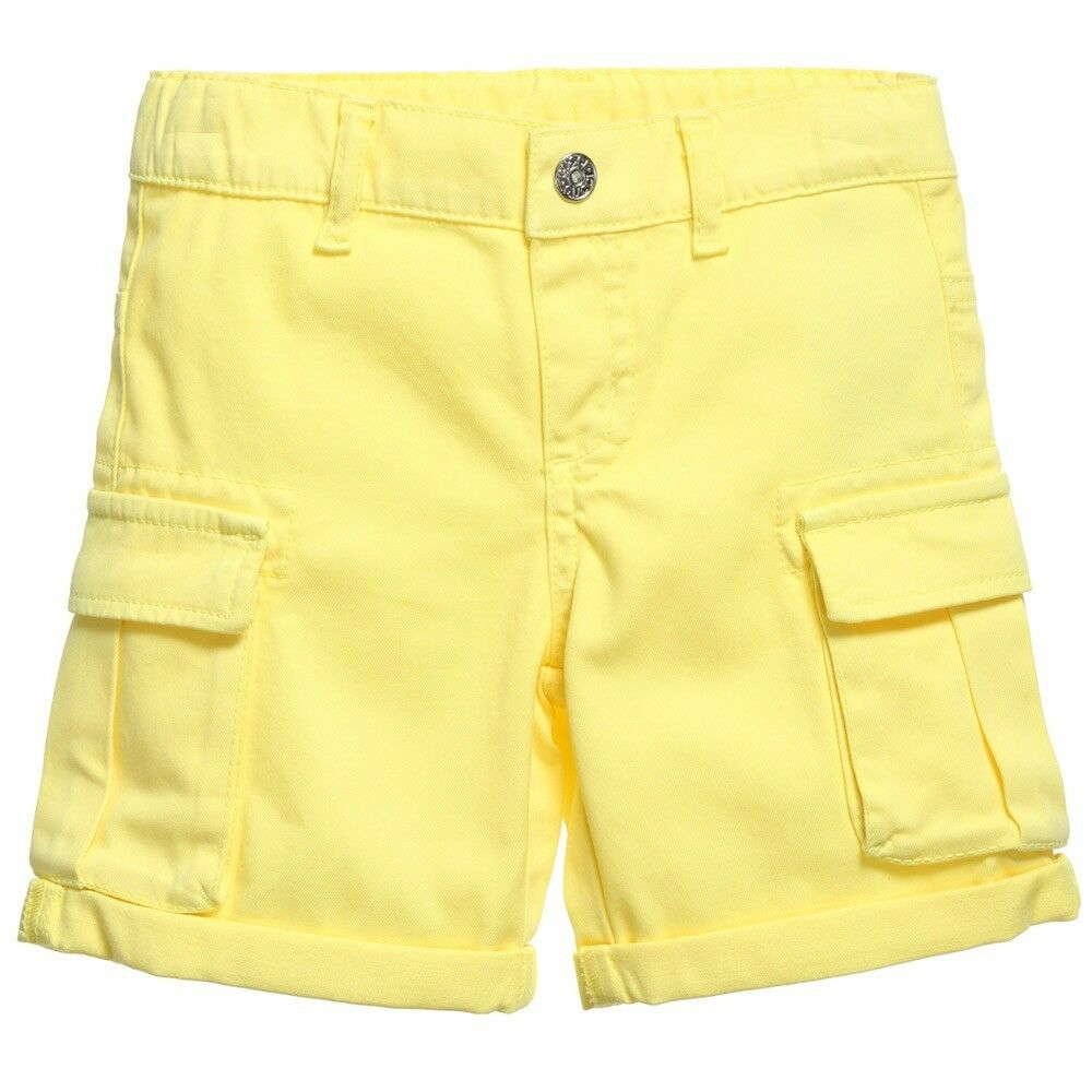 c9712446e Details about GUCCI BABY BRIGHT YELLOW CARGO SHORTS 3-6 MONTHS