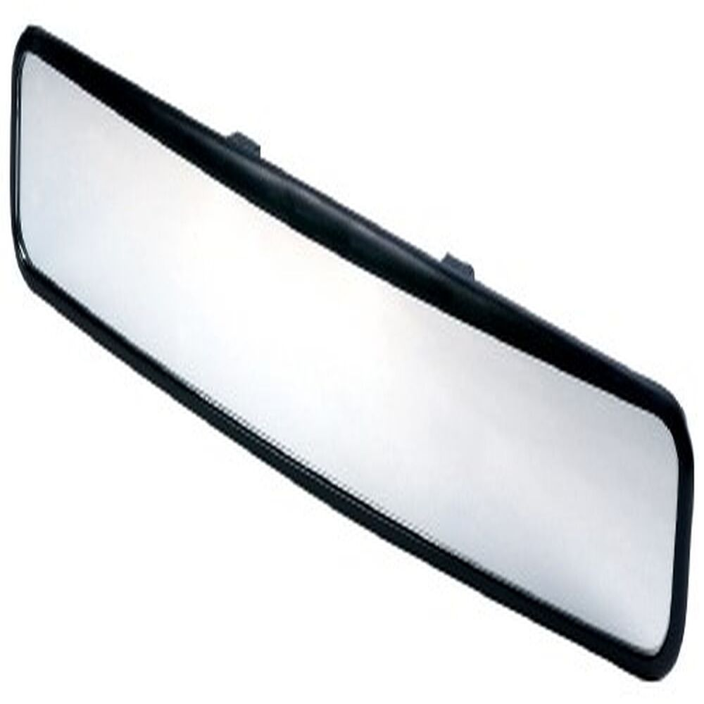 No blind spot long rear view wide angle glass panoramic for Long glass mirror