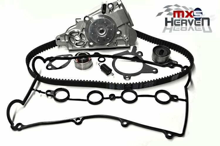 mazda mx5 mk2 1 6 timing belt kit  4 pc   water pump  u0026 cam cover gasket  new