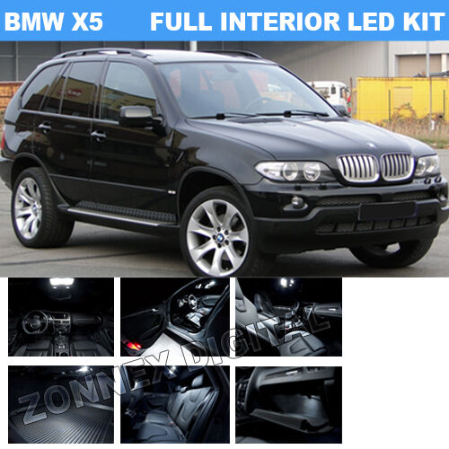 Bmw x5 e53 00 06 innenraum komplett led upgrade for Interieur x5 e53
