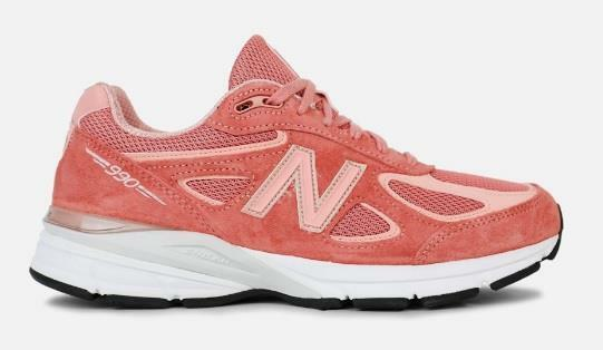 new balance 990 w990sr4 sunrise rose gold white grey salmon peach suede mesh ebay. Black Bedroom Furniture Sets. Home Design Ideas