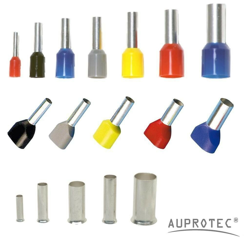 Auprotec bootlace ferrules mm² cable cord end