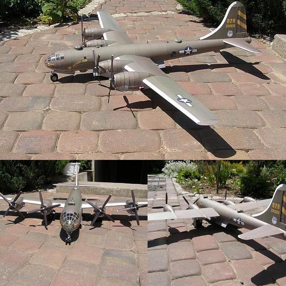 1:47 Boeing B-29 SuperFortress Bomber Bombardment Aircraft