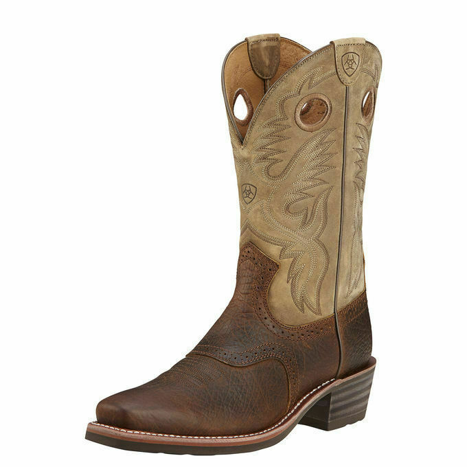 Ariat 10002230 Heritage Roughstock Earth 12 Quot Pull On R Toe