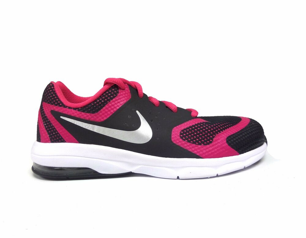 a5c2865b3d8ff3 Details about Nike Girl s AIR MAX PREMIERE RUN Grade School Shoes Black Pink  716789-004 a1