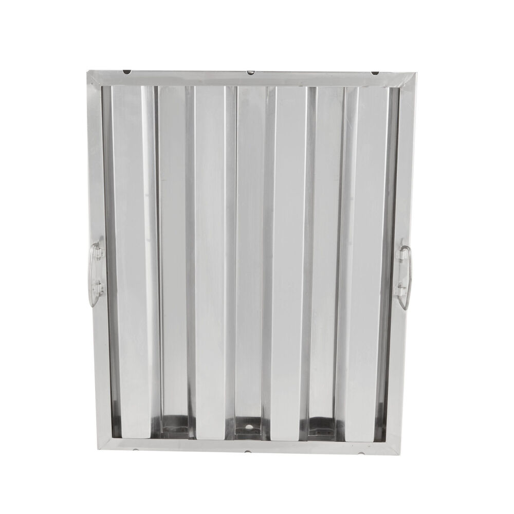 "Commercial Kitchen Exhaust Hood Filters: 20"" X 16"" Stainless Steel Hood Grease Commercial Exhaust"