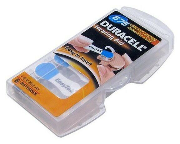 Duracell Activair Hearing Aid Batteries Size 675 40 With A Free Battery Caddie Ebay