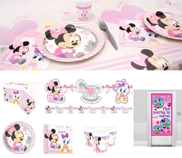 Baby minnie mouse party decoration birthday party for Baby minnie mouse party decoration