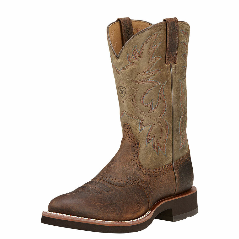 Ariat 10002559 Heritage Crepe Rubber Sole 11 Quot Tan Pull On