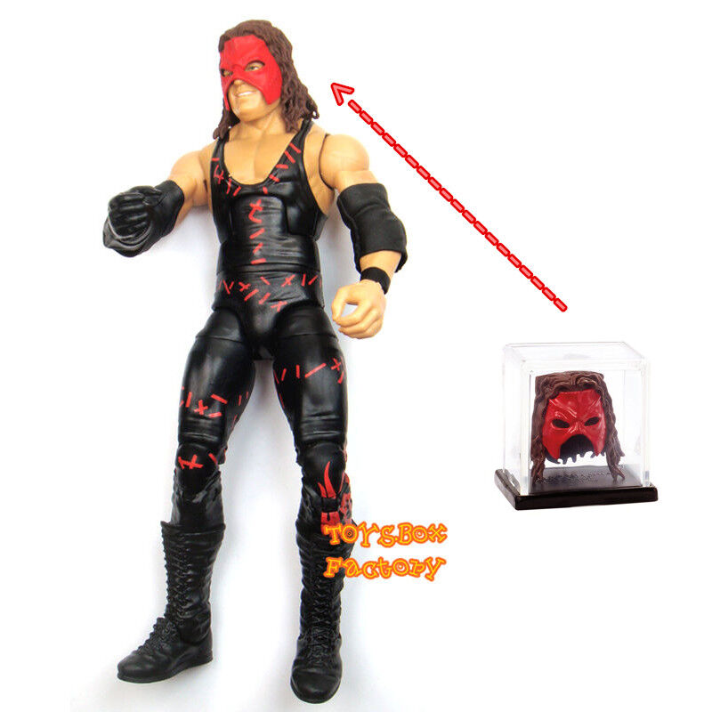 Big Red W: WWE The Big Red Machine Kane Elite W/ Mask Wrestling
