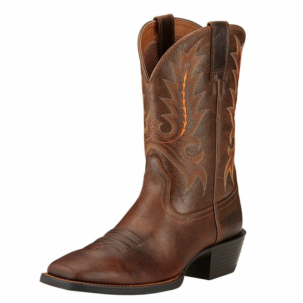 Ariat 10017355 Sport Outfitter 11 Quot Pull On Wide Square Toe