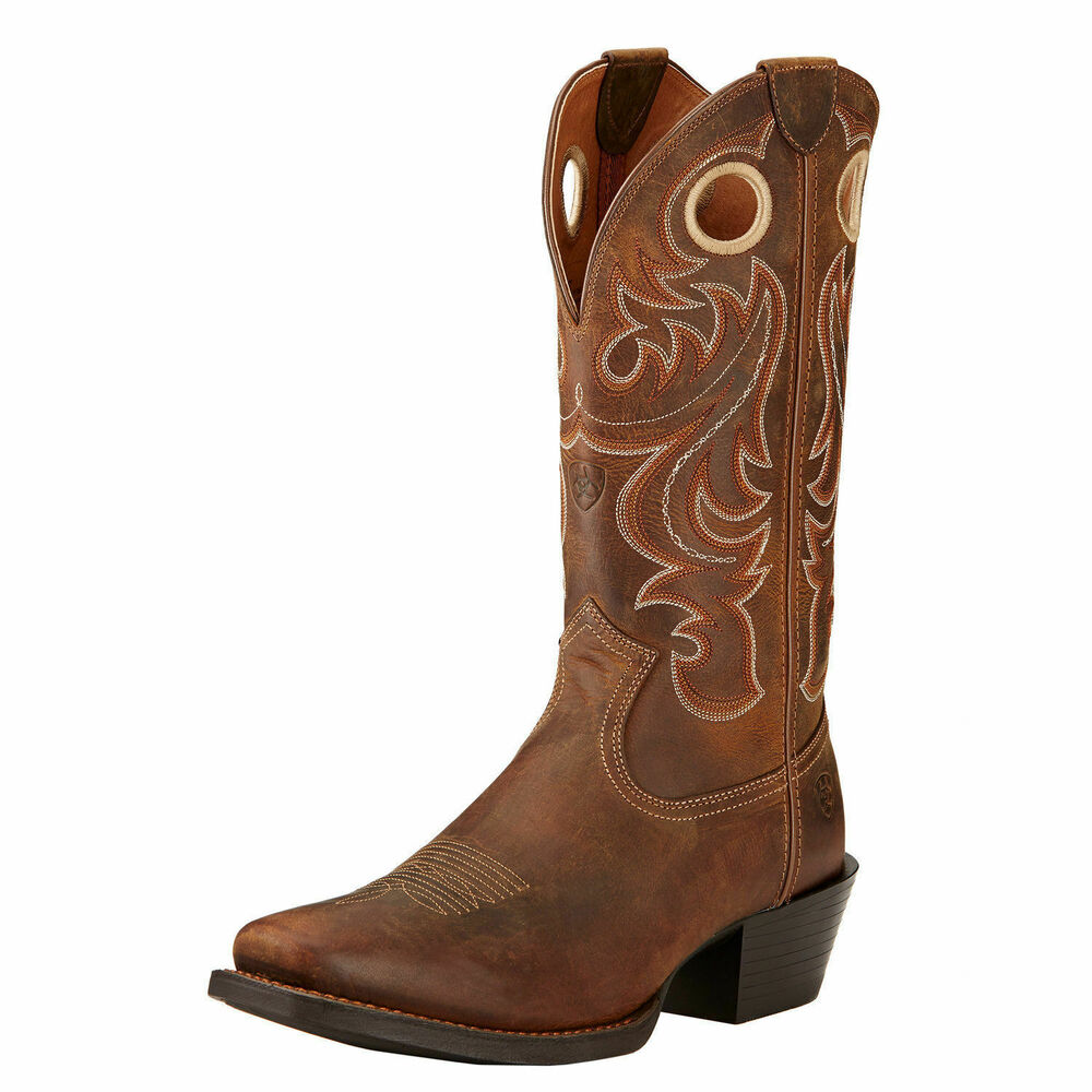 Ariat 10017365 Sport Wide Square Toe 13 Quot Tan Pull On