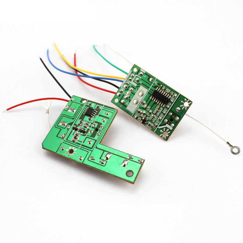 27MHZ 4CH Transmitter + Receiver Board for Remote Control ...