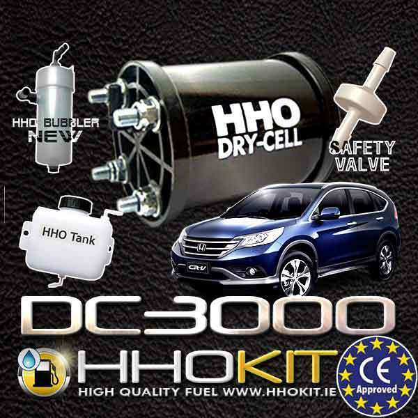 HHO KIT DC3000 FOR CARS 2.4-3.4L SAVE FUEL.HHO GENERATOR