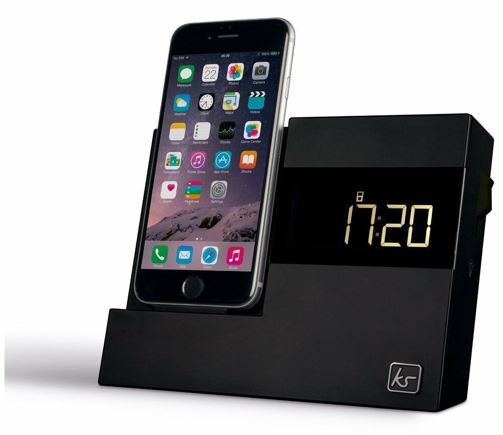kitsound speaker charging docking station for iphone 7. Black Bedroom Furniture Sets. Home Design Ideas