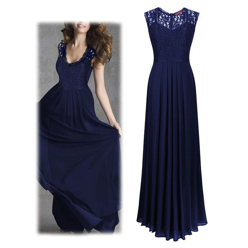 Ladies Gowns: Womens Lace Cocktail Plus Big Size Maxi Dress Ladies