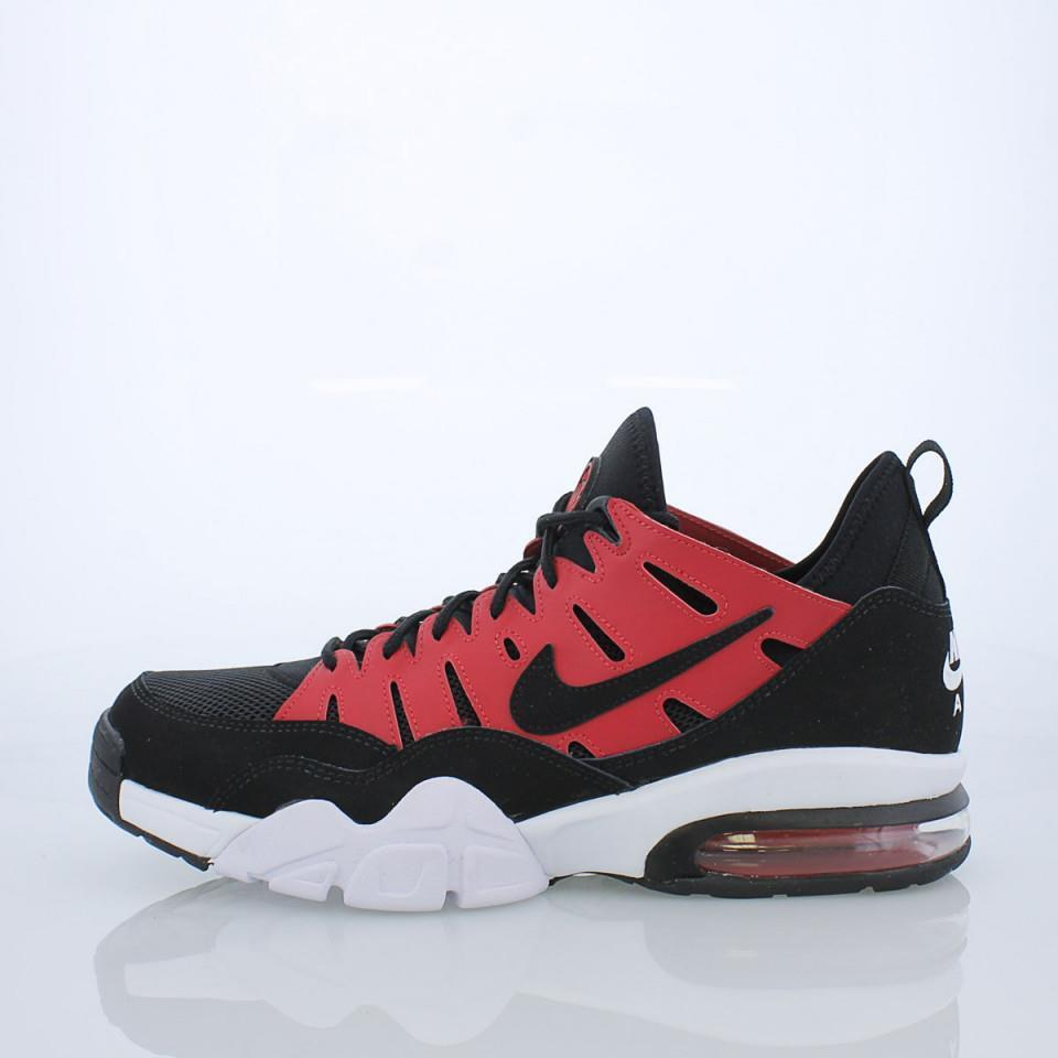 size 40 fd8f9 ab468 Details about NIKE AIR TRAINER MAX  94 LOW 880995 600 GYM RED BLACK-WHITE -  OG COLOR