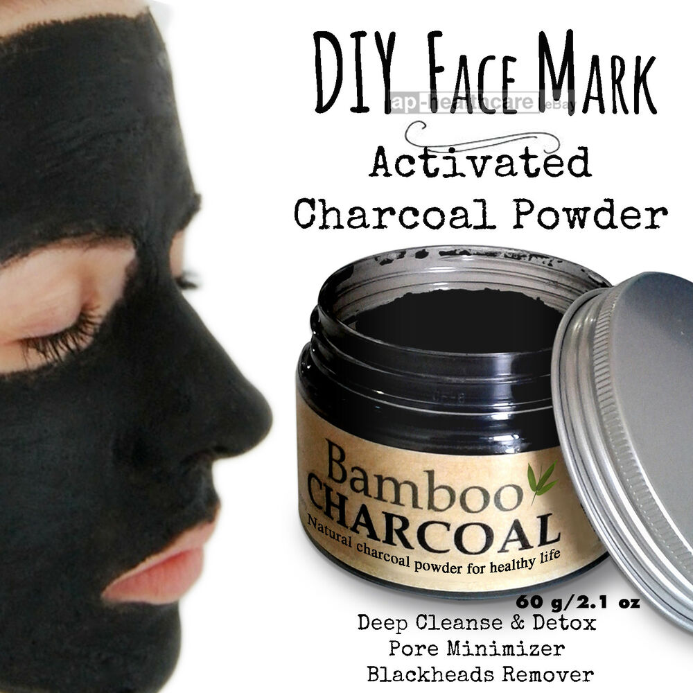diy face mask activated charcoal powder deep cleanse detox peel off blackheads ebay. Black Bedroom Furniture Sets. Home Design Ideas