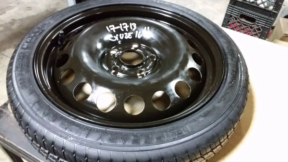 2011 2012 2013 2014 2015 chevy cruze spare tire wheel donut 16 ebay. Black Bedroom Furniture Sets. Home Design Ideas