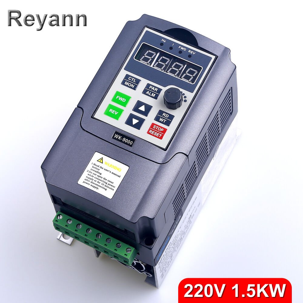 220v 1 5kw single phase input to 220v 3 phase output for How to convert 3 phase motor to single phase 220v
