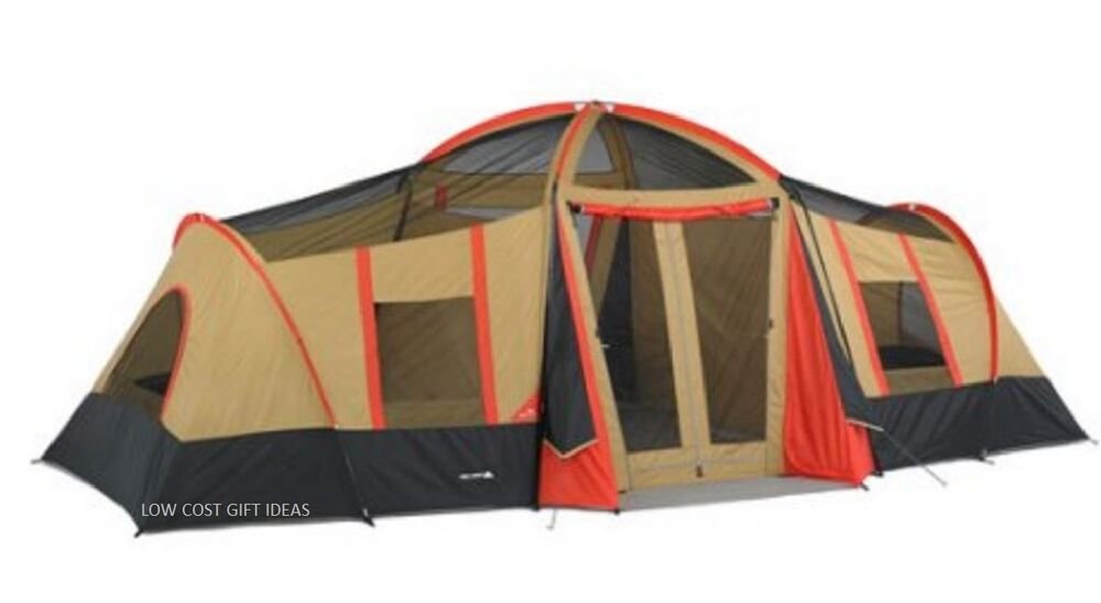 big tents for camping with rooms for kids 20 x 11 large 10. Black Bedroom Furniture Sets. Home Design Ideas