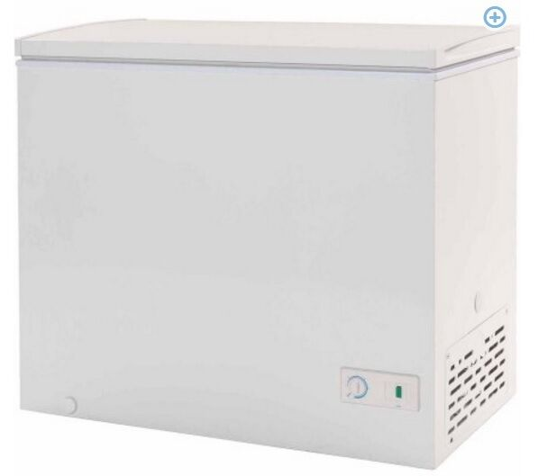 mini deep freezer chest freezer haier 7 1 cu ft white small size new 29061