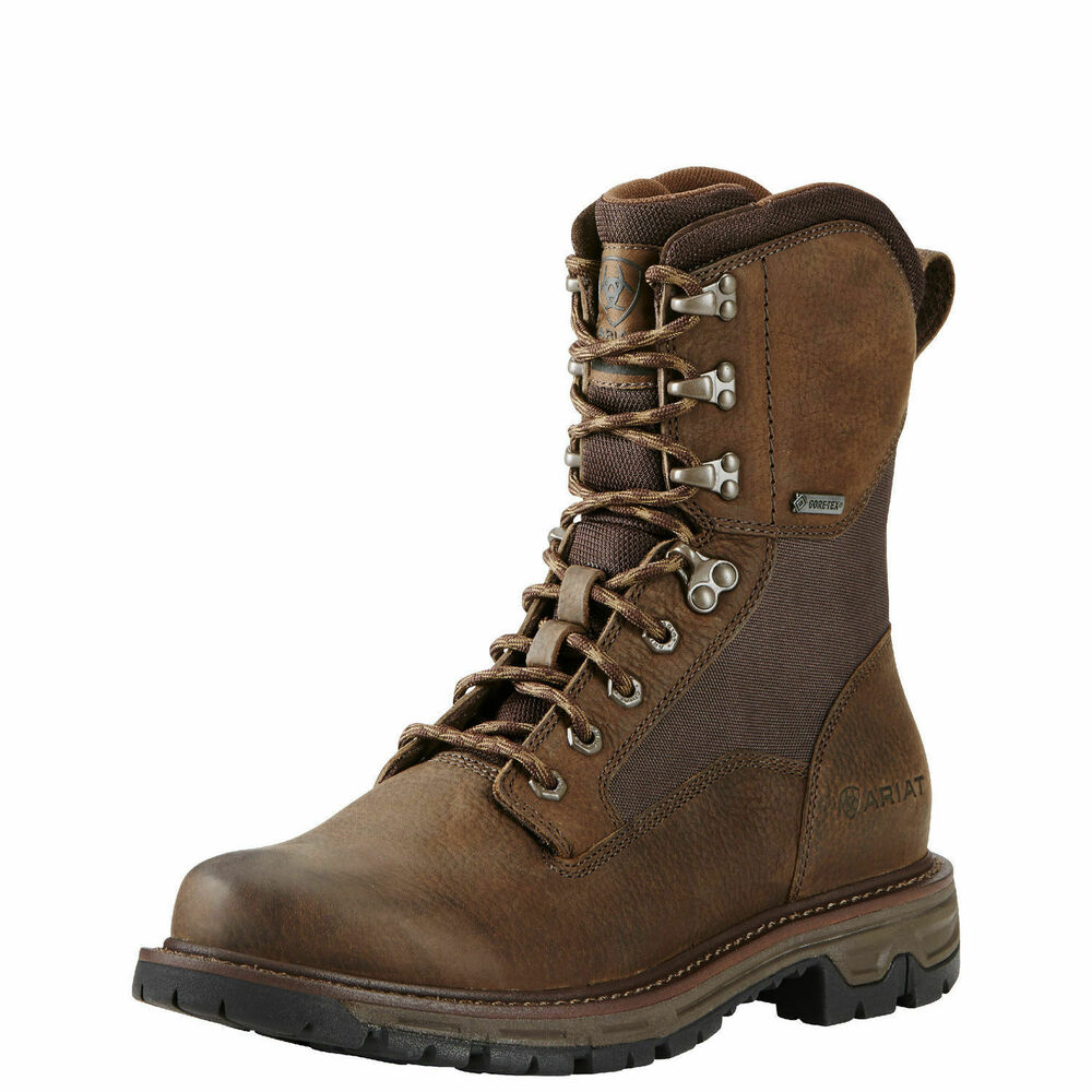 Ariat 10018427 Conquest 8 Quot Gtx Pebbled Brown Gore Tex