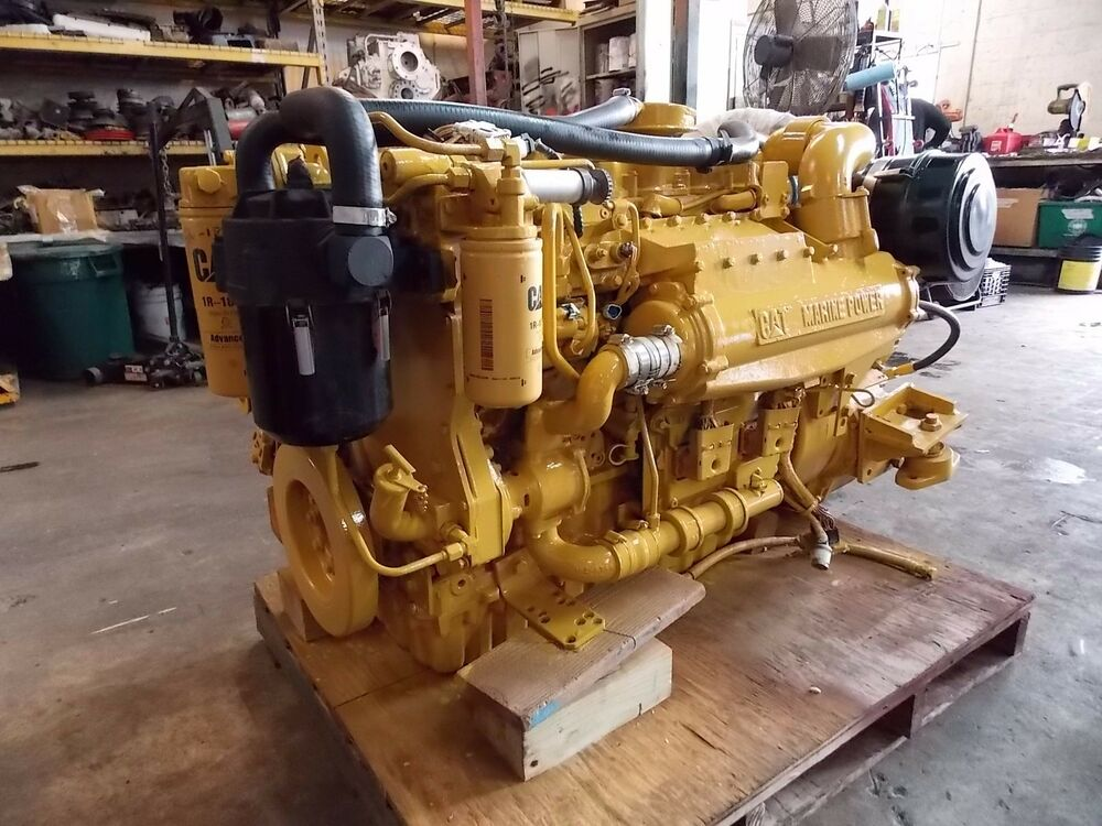 Caterpillar 3126b Quot Cat Quot Marine Diesel Engine Rated 450 Hp