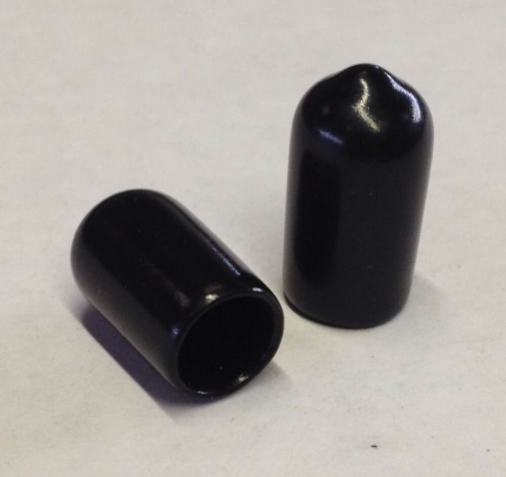 Mm end caps covers for tubes rods threads rubber