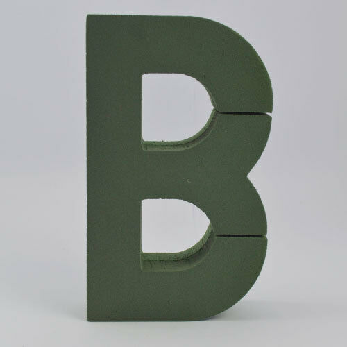 EXTRA LARGE FLORAL FOAM LETTERS A TO Z NAME TRIBUTE