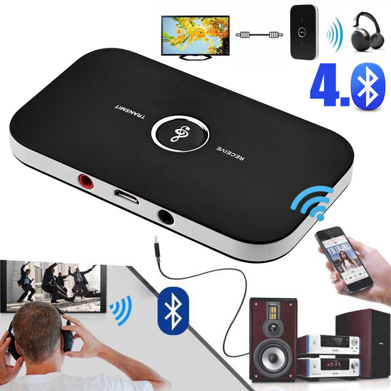 bluetooth hifi receiver transmitter empf nger sender adapter 3 5mm musik audio ebay. Black Bedroom Furniture Sets. Home Design Ideas