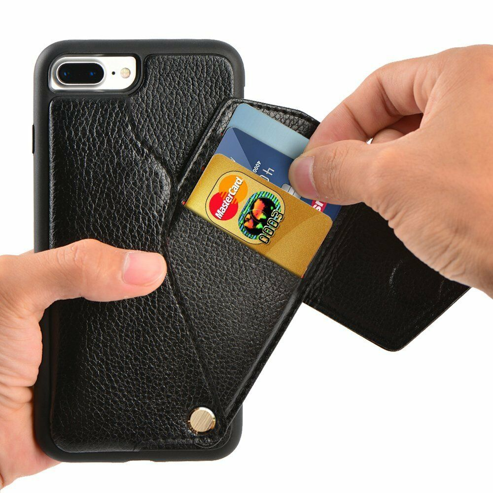 iphone credit card case apple iphone 7 plus wallet leather id credit card 3430
