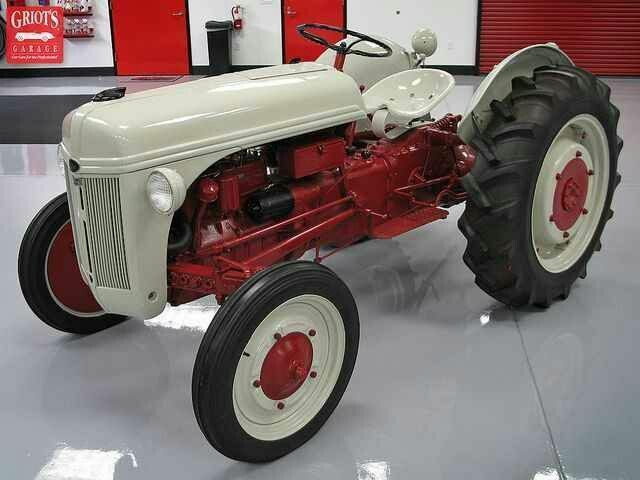Ford 9n Parts : Ford n tractor manuals service repair
